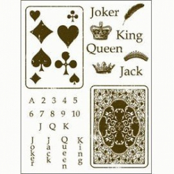 Obrázek Gelová razítka - Žolíkové karty