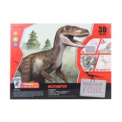 Obrázek Tesání Velociraptor s omalovánky