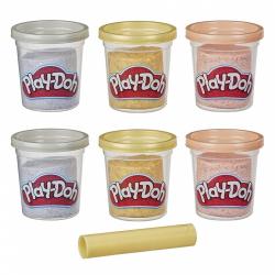 Obrázek Play-Doh Sada kelímků zlatá, stříbrná a růžové zlato 6 ks