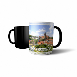 Obrázek Měnící hrnek Hrady a zámky - Český Krumlov #1