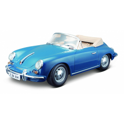 Obrázek Bburago 1:18 Porsche 356B Cabriolet 1961 Blue