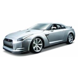 Obrázek Bburago 1:18 2009 Nissan GT-R Metallic Silver
