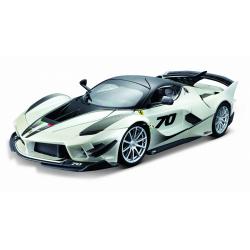 Obrázek Bburago 1:18 Ferrari TOP  FXX-K EVO No.70 (white/black)
