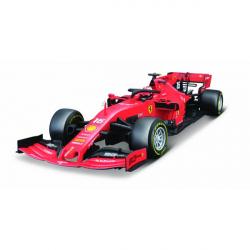 Obrázek Bburago 1:18 Ferrari  Racing F1 2019 SF90 LeClercl