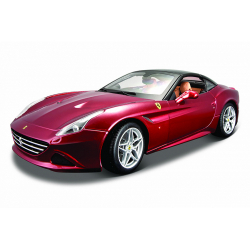 Obrázek Bburago 1:18 Ferrari Signature series California (Closed Top) Metallic Red