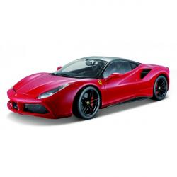 Obrázek Bburago 1:18 Ferrari Signature series 488 GTB Red