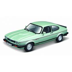 Obrázek Bburago 1:24 Plus Ford Capri 1982 light green