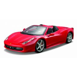 Obrázek Bburago 1:24 Ferrari 458 Spider Red