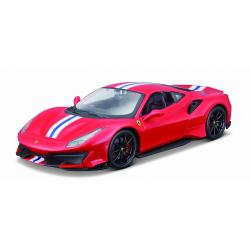 Obrázek Bburago 1:24 Ferrari  TOP 488 Pista (red)