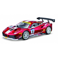 Obrázek Bburago 1:24 Ferrari Racing 488 Challenge 2017