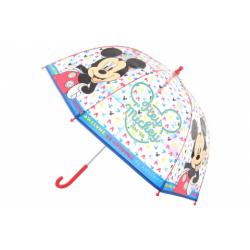Obrázek Deštník Mickey průhledný manuální
