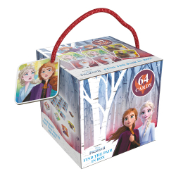 Obrázek Pexeso na cesty Frozen 2 - Ledové království