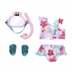 Obrázek BABY born® Souprava plavky a šnorchl 43 cm