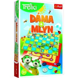 Obrázek Hra Dáma a Mlýn / Rodina Trefliků