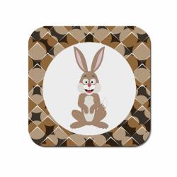 Obrázek Podtácek Veselá zvířátka - Zajíček
