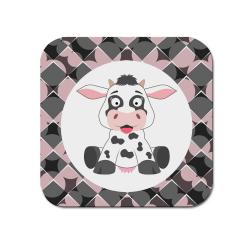 Obrázek Podtácek Veselá zvířátka - Kráva