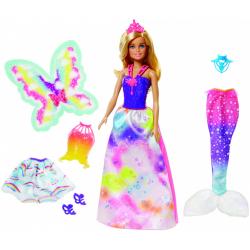 Obrázek Barbie víla a pohádkové oblečky