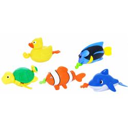 Obrázek zvířata do vody na natažení - 5 druhů