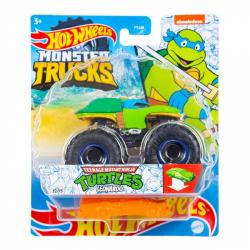 Obrázek Hot Wheels Monster trucks Turtles Leonardo GWK20