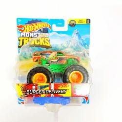 Obrázek Hot Wheels Monster trucks Burger Delivery GTH77
