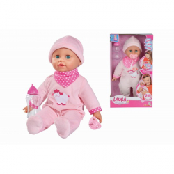 Obrázek Panenka Laura 38 cm s Lahvičkou a se Zvuky