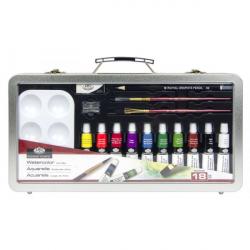Obrázek ROYAL and LANGNICKEL Akvarelový set v plechovém kufříku