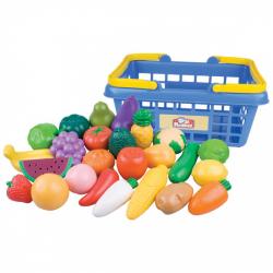 Obrázek Nákupní košík ovoce/zelenina 25ks plast 28x13x22cm