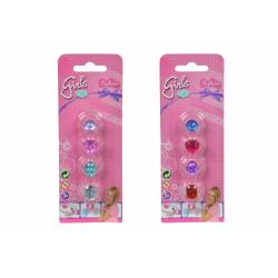 Obrázek Sada prstýnků pro holčičky 2 druhy - 2 druhy