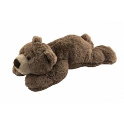 Obrázek Medvěd hnědý ležící plyš 30x16x50cm 0+