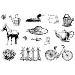 Obrázek Gelová razítka- Farma kolo