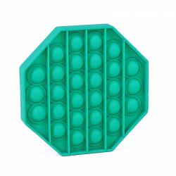 Obrázek Pop it - praskání bublin - osmihran - zelená