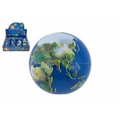 Obrázek Míček skákací Země guma 7cm 1ks v sáčku 12 ks v boxu