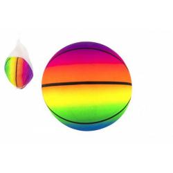 Obrázek Míč basketbal gumový nenafouknutý 23cm v síťce