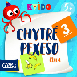 Obrázek Chytré pexeso - Čísla - Kvído