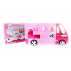 Obrázek Velký bílý karavan pro panenky