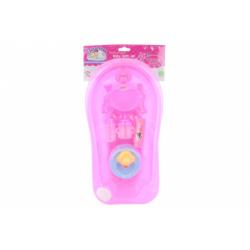 Obrázek Vanička růžová s doplňky