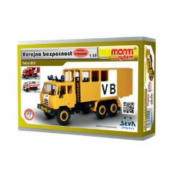 Obrázek Stavebnice Monti 12.1 Tatra 815 VB Veřejná bezpečnost 1:48