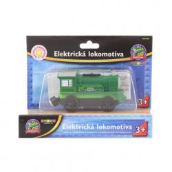 Obrázek Maxim Elektrická lokomotiva - zelená