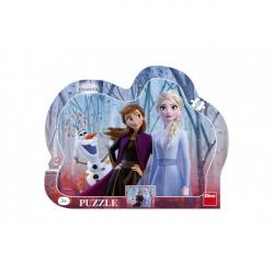 Obrázek Puzzle deskové Ledové království II/Frozen II 35,5x28cm 25 dílků