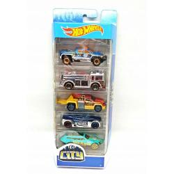 Obrázek Hot Wheels Angličák 5ks - City 5-Pack FYL24