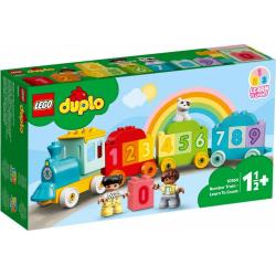 Obrázek LEGO<sup><small>®</small></sup> DUPLO<sup><small>®</small></sup> My First 10954 - Vláček s čísly - Učíme se počíta