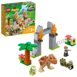 Obrázek LEGO<sup><small>®</small></sup> DUPLO<sup><small>®</small></sup> Jurassic World10939 - T-Rex a Triceratops na út