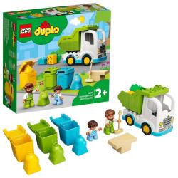 Obrázek LEGO<sup><small>®</small></sup> DUPLO<sup><small>®</small></sup> Town 10945 - Popelářský vůz a recyklování