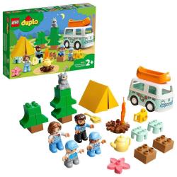 Obrázek LEGO<sup><small>®</small></sup> DUPLO<sup><small>®</small></sup> Town 10946 - Dobrodružství vrodinném karavanu