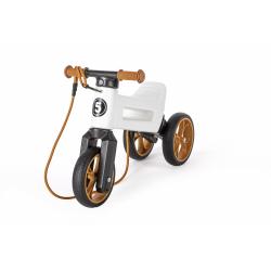 Obrázek Teddies FUNNY WHEELS Rider SuperSport bílé 2v1+popruh 28/30cm