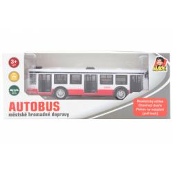 Obrázek Autobus kovový na zpětný chod