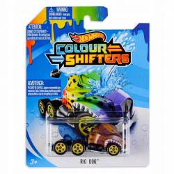 Obrázek Hot Wheels angličák color shifters - Rig Dog CFM43