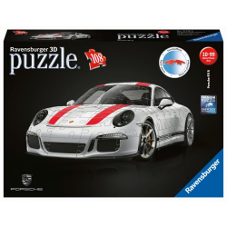 Obrázek Puzzle 3D Porsche 911R 3D 108 dílků