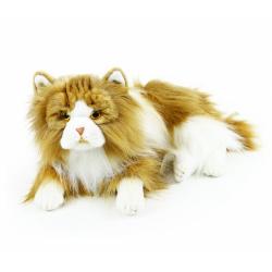 Obrázek plyšová kočka perská ležící 35 cm