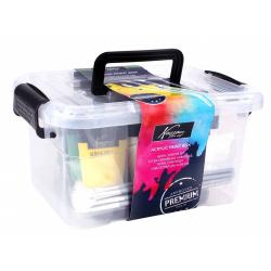 Obrázek Sada akrylových barev kufříků